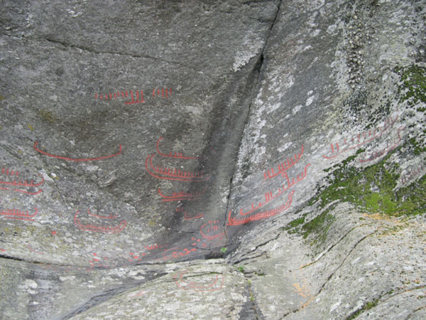 Rock carving
